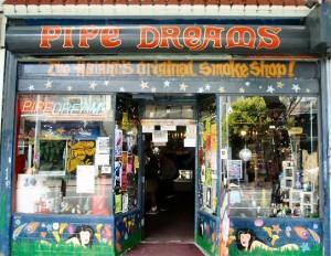 pipe dream, san francisco smoke shops