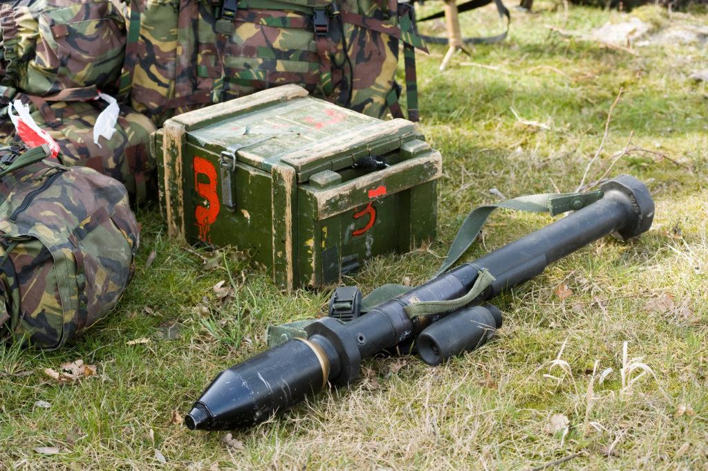 Mexican Authorities Seize Giant Weed Launching Bazooka