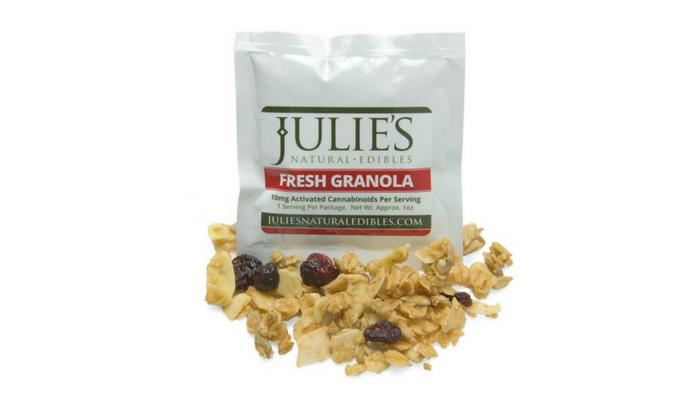 Healthy edibles | Julie's Granola