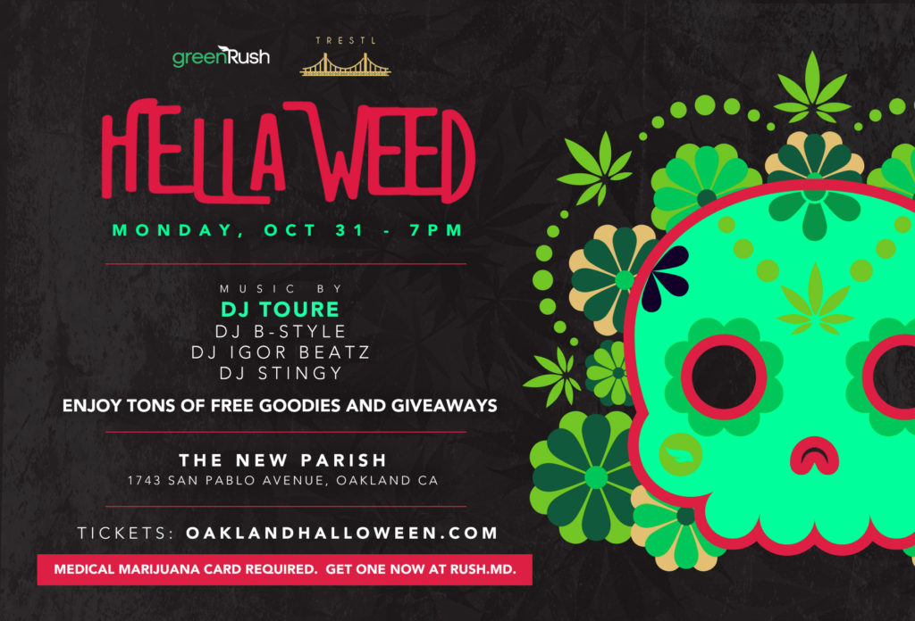 Tickets for HellaWeed weed Party GreenRush
