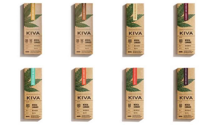 Order KIVA cannabis chocolate online
