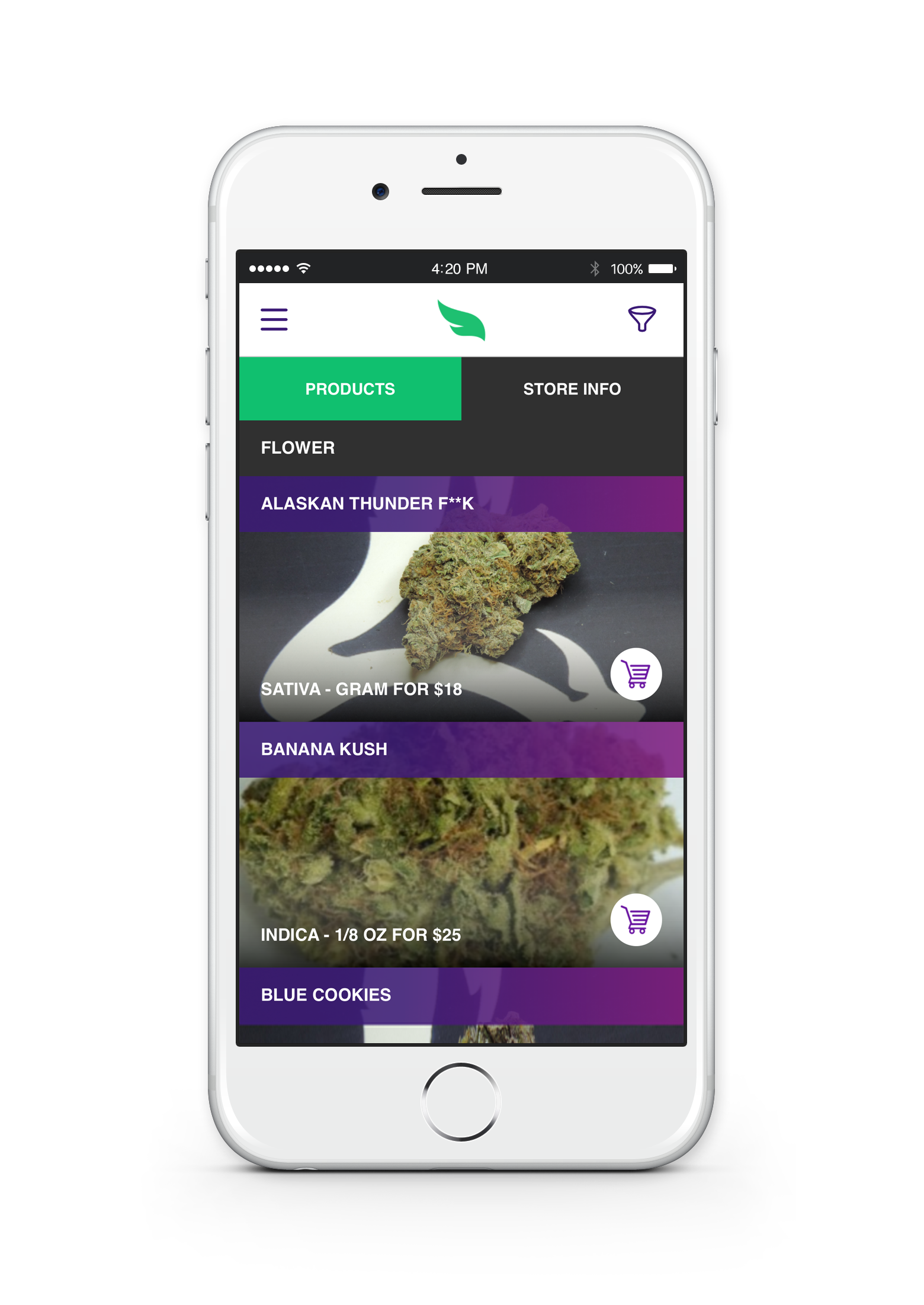 greenrush: cannabis delivery straight from your phone