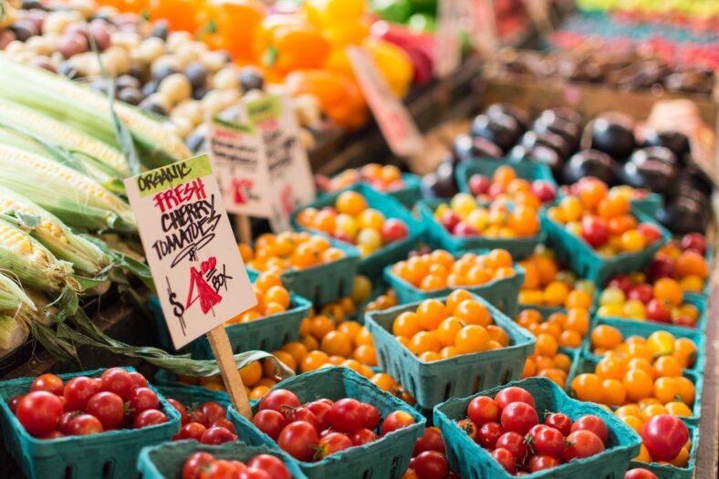 San Mateo Farmers market, blog header