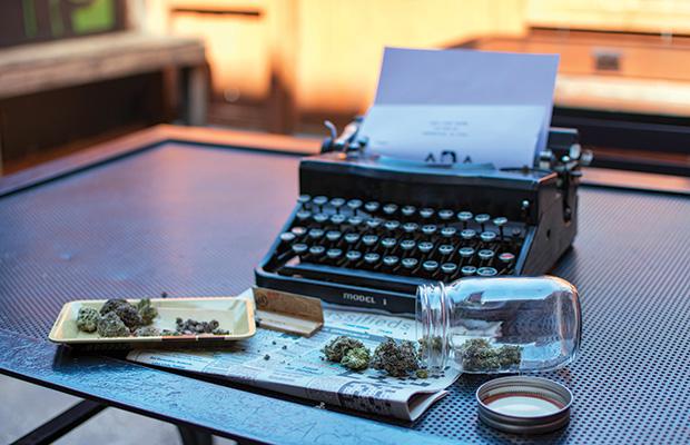 authors who smoke weed