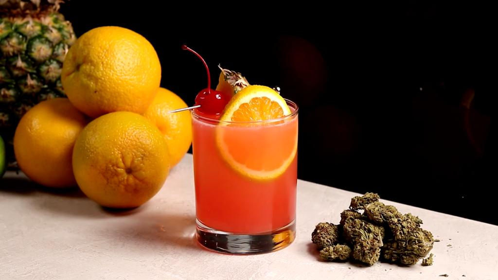how to make weed liquor
