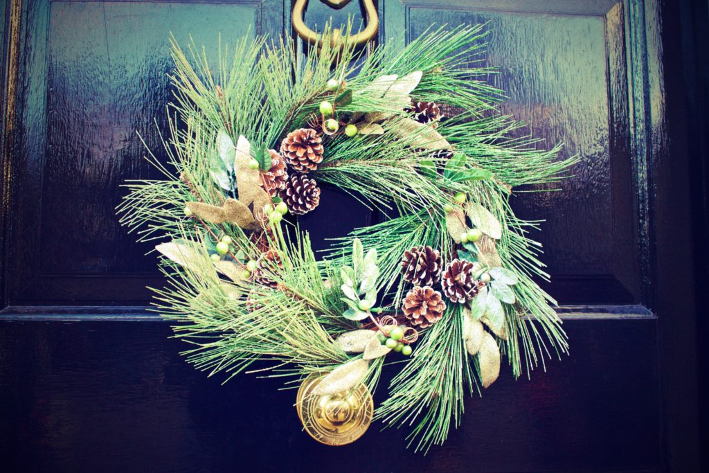 Spice Up Your Holiday Décor with This Marijuana Christmas Wreath