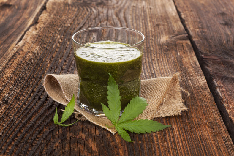 eating cannabis