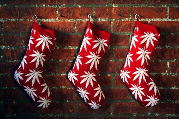 Christmas cannabis gifts