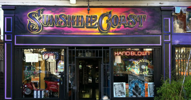 sunshine coast head shop